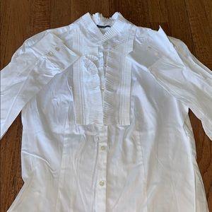 J.McLaughlin white dress shirt
